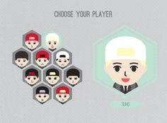 EXO mascots || if there was an exo game..