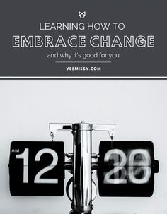 Tips on how to handle change in your life whether it's welcomed or not. Change Is Good, Learning To Be, Human Nature, To Focus, How To Run Longer, Lifestyle Blog, I Am Awesome, Health Fitness, How To Remove