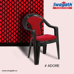 Cushioned Adore #chairs from Swagath can give you complete comfort while prolonged sitting. You can select from the attractive colours at www.swagath.co !!