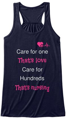 Care For One That's Love Care For  Hundreds That's Nursing Midnight T-Shirt Front