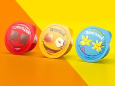 Faces Of Cheese on Packaging of the World - Creative Package Design Gallery