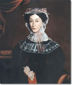 Google Image Result for http://prints.encore-editions.com/0/500/american-folk-art-painting-portrait-by-unknown-artist-lady-with-lavender-ribbons-1835-30-x-24-approximate-original-size-in-inches.jpg