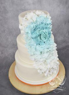 One of a Kind Wedding Cakes from Artisan Cake Company - MODwedding