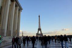 Paris, France. The amazing city's mark, Eiffel Tower