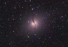 Jumbled Galaxy Centaurus A