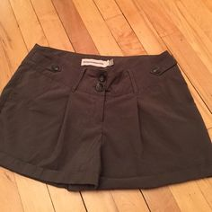 Brown Shorts from Brooklyn Industries Worn at least 3 times prior but washed carefully each time. Great for dressing up in or for everyday use. Comfy and stylish. These shorts are great because they hug your hips really well and are loose around your quads. Brooklyn Indsutries Shorts