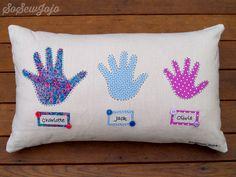 handprint cushion - Google Search