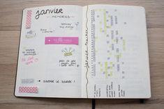 Je t'emmène dans mon Bullet Journal ! Bujo, Le Web, Back To School, Budgeting, Notebook, Organiser, Bullet Journals, Construction, Day Planners