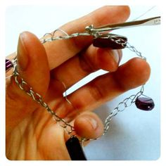 crocheting with wire tutorial
