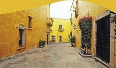 Calles empedradas de Querétaro