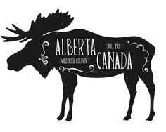 Alberta print by Northern Rustication