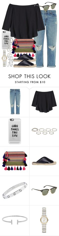 """""""Sin título #3814"""" by hellomissapple on Polyvore featuring moda, rag & bone, Rebecca Taylor, Casetify, Akira, New Look, Vince, Cartier, Ray-Ban y Humble Chic"""