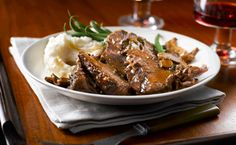 Slow Cooker Marvelous Mushroom Pot Roast Recipe by Eat In Eat Out Click the photo to get the recipe! Beef Pot Roast, Pot Roast Recipes, Crockpot Recipes, Lamb Recipes, Slow Cooker Beef, Slow Cooker Recipes, Cooking Recipes, Slower Cooker, What's Cooking