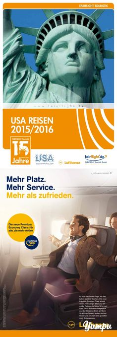 USA Reisen - Magazine with 124 pages: Travel Magazines, Travel Agency, Marketing, Usa, Movie Posters, Movies, Reading, Films, Film