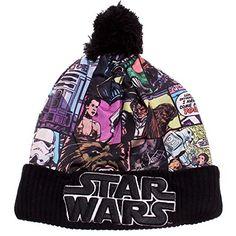 Boys Girls Kids Official Licensed Star Wars Stormtrooper Beanie Winter Hat