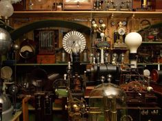 Steampunk Photo: This Photo was uploaded by holyhabanero. Find other Steampunk pictures and photos or upload your own with Photobucket free image and vi. Design Steampunk, Casa Steampunk, Steampunk Kunst, Steampunk Images, Style Steampunk, Steampunk Fashion, Steampunk Store, Steampunk Circus, Steampunk Interior