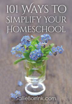 Is it time to simplify some aspects of your homeschool? Are you feeling overwhelmed by homeschooling? Don't know where to start? Here are 101 ways you can simplify your homeschool starting today!