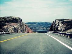 """Divided by Zinvolle - """"To infinity... and beyond!"""" (Toy Story)   Photo taken on the highway to Clarenville, Newfoundland"""