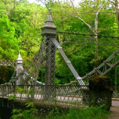 Cinderella Bridge, Mill Creek Park - I loved this bridge as a little girl