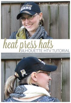 How to Heat Press a Hat: No Special Attachment Needed (Silhouette HTV Tutorial) - Silhouette School