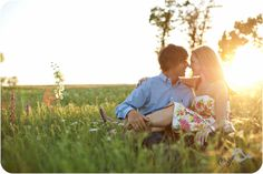 Aves Photography Dallas Fort Worth Engagement Portraits in a field with wildflowers Engagement Clothing ideas close soft organic Engagements...