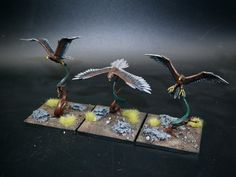 Warhammer Wood Elves, Wood Elf, Bird Feeders, Outdoor Decor, Teacup Bird Feeders