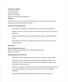 Communications Specialist Resume Amusing Entry Level Marketing Communications Resume  Marketing Resume .