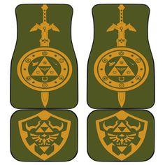 Legend Of Zelda Car Mats 3 Car Mats, Car Floor Mats, Mat Best, Muddy Girl Camo, Legend Of Zelda, Flooring, Anniversary, 3d, Blanket