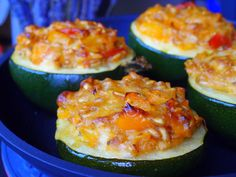 Stuffed gem squashes