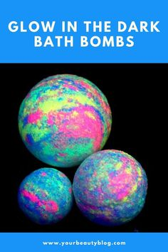 Glow in the Dark Bath Bomb Recipe How to make glow in the dark bath bombs with skin safe glow in the dark powder. These fun bath bombs have a tie dye effect with glow in the dark mic… Kid Safe Essential Oils, Bath Boms Diy, Homemade Gifts For Friends, Best Bath Bombs, Homemade Bath Bombs, Bombe Recipe, Bath Bomb Recipes, Diy Spa, Crafts To Make And Sell