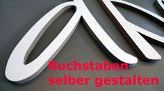 BUCHSTABEN ★ DIY ★ Kreativ-Set von PAULSBECK Buchstaben, Dekoration & Geschenke auf DaWanda.com