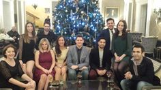 All suited and booted at the Zeal Christmas Party #LifeatZeal (2013)