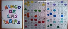 Material Manipulativo el bingo de las tablas de multiplicar Editable 1 Math For Kids, Fun Math, Activities For Kids, English Classroom, Math Classroom, Math Tables, Study Methods, Third Grade Math, Ways Of Learning