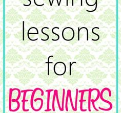 12 Free Online Basic Sewing Classes for Beginners