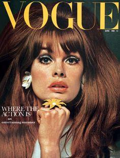Vogue UK, June 1965. Jean Shrimpton photographed by David Bailey.