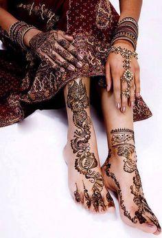100+ Beautiful Mehndi Designs of 2013-2014!