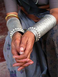 "India   ""The women of the countryside often wear these beautiful bracelets"". Gujarat   ©Huub Verbeek"
