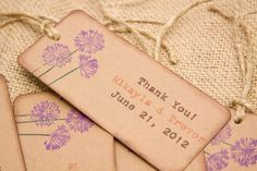 Favor Tag Thank you Tag Rustic Country Barn Weddings Rehearsal Dinners All Events Customizable DEPOSIT. $10.00, via Etsy.