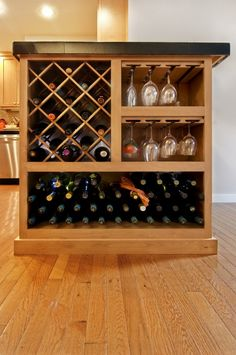 We want a wet bar in our house one day and this would be a cute addition :)