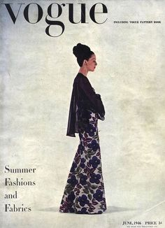 Vogue Magazine [United States] (June 1946)