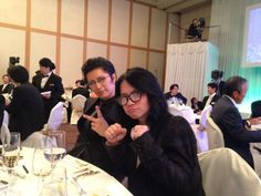 Oh GACKT You Didn't! GACKT & hyde seated at the same table at the wedding ceremony #GACKT RT @yamadamic: GとHと同じテーブルだったという奇跡w p.twipple.jp/8rKP2 事務所公認でございます!