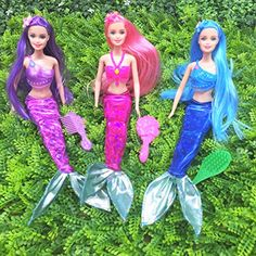 Butterfly Craze Mermaid Princess Doll Pack for Little Girl's Toy and Play Gift Set, Little Girl Toys, Toys For Girls, Gifts For Girls, Little Girls, Mermaid Party Games, Princess Barbie Dolls, 3 Year Old Girl, Pack And Play, Thing 1