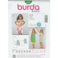 BURDA - 9544 Robe enfant