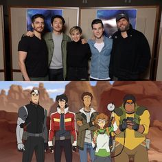 """jeremy shada on Twitter: """"The Paladins of #Voltron! Squad goals met."""" - Team Voltron"""