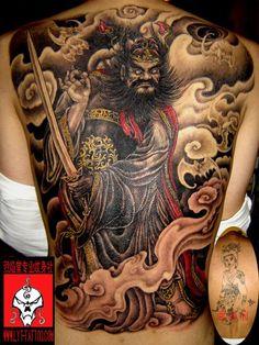 family style tattoos | Para quem se interessou pela tatuagem de samurai, abaixo tem 55 bons ...