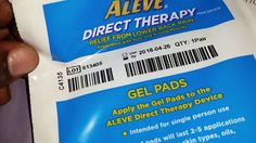 BZZZAGENT UNBOXING OF ALEVE DIRECT THERAPY