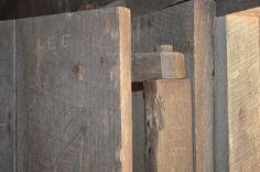 Cade's Cove, North Carolina. Cabin Door hinge.