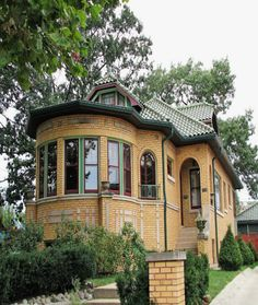 Chicago Bungalow Style Brick House