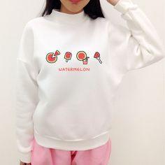 d6a610a4ef S-3XL Watermelon Tea Party Jumper Sweater SP167804 Dinosaur Jumper