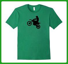 Mens Motorbike Motocross Stunt Stuntman Bike T Shirt Fathers Day XL Kelly Green - Holiday and seasonal shirts (*Amazon Partner-Link)